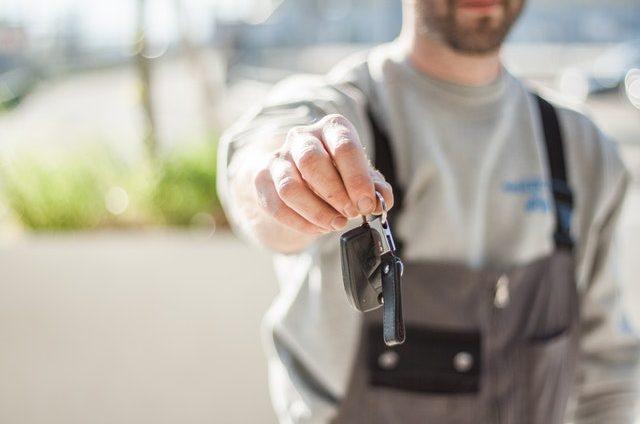 car key lost